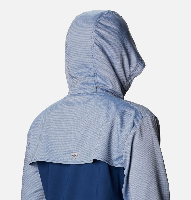 Tamiami™ Hoodie | 470 | XS Women's PFG Tamiami™ Hoodie, Carbon, Red Spark, a3