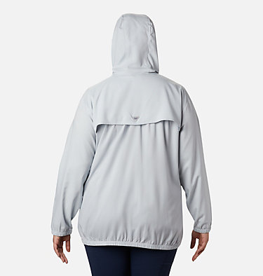 Women's Tamiami™ Hoodie - Plus Size Tamiami™ Hoodie | 463 | 2X, Cirrus Grey, Stormy Blue, back