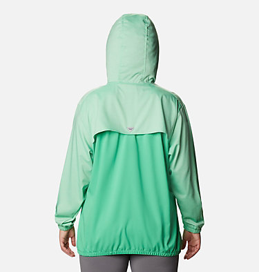 Women's Tamiami™ Hoodie - Plus Size Tamiami™ Hoodie | 463 | 2X, Emerald City, Stormy Blue, back