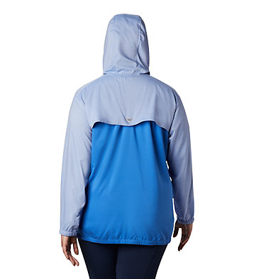 Women's Tamiami™ Hoodie - Plus Size Tamiami™ Hoodie | 463 | 2X, Stormy Blue, Light Coral, back