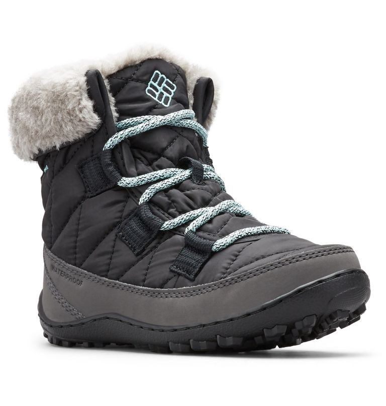 Youth Minx™ Shorty Omni-Heat™ Waterproof Boot Youth Minx™ Shorty Omni-Heat™ Waterproof Boot, 3/4 front