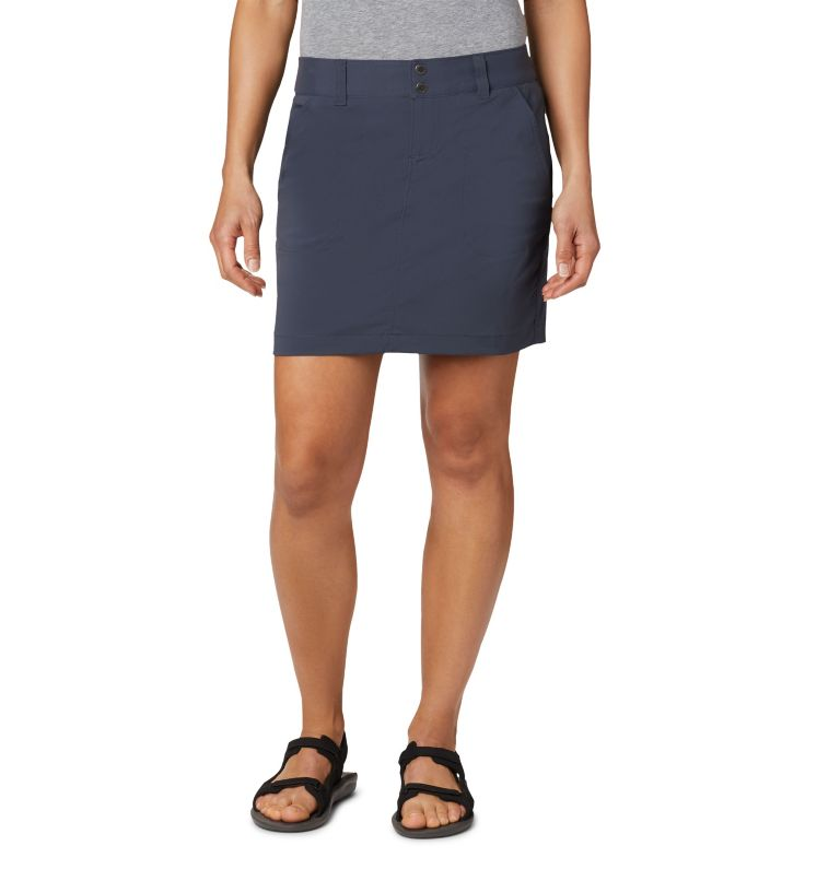 Saturday Trail™ Skort | 419 | 2 Jupe-Short Saturday Trail™ Femme, India Ink, front
