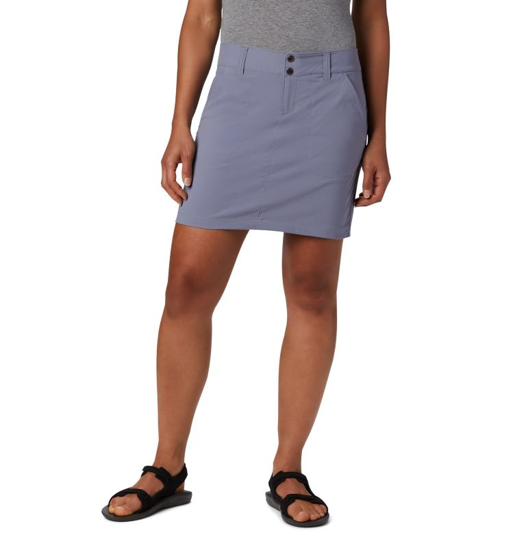 Saturday Trail™ Skort | 556 | 8 Jupe-Short Saturday Trail™ Femme, New Moon, front