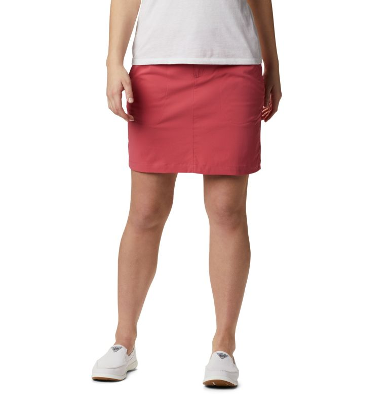 Saturday Trail™ Skort | 634 | 16 Jupe-Short Saturday Trail™ Femme, Rouge Pink, front