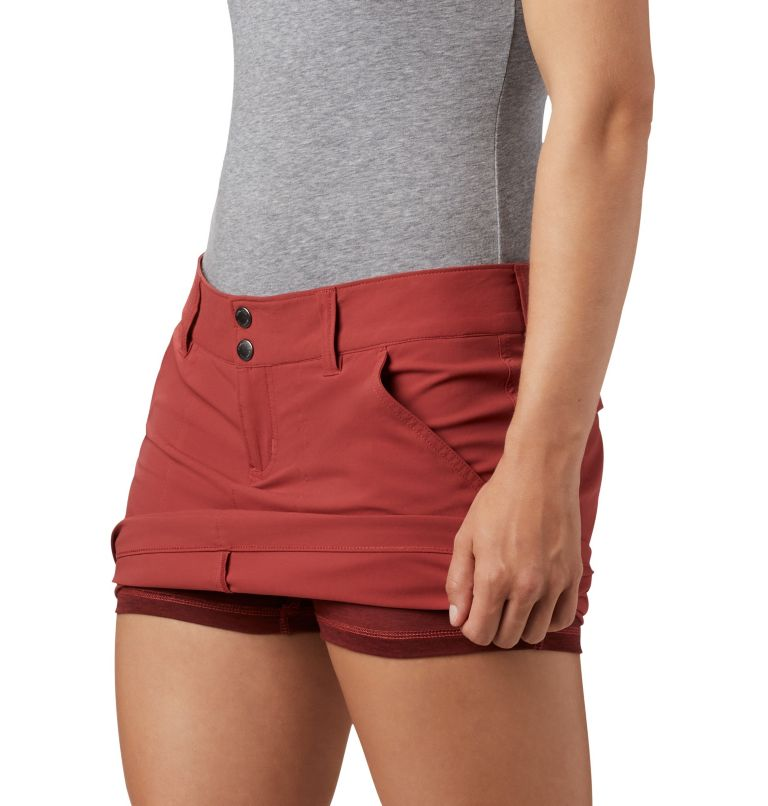 Saturday Trail™ Skort | 638 | 16 Jupe-Short Saturday Trail™ Femme, Dusty Crimson, a1