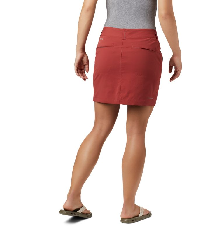 Saturday Trail™ Skort | 638 | 16 Jupe-Short Saturday Trail™ Femme, Dusty Crimson, back