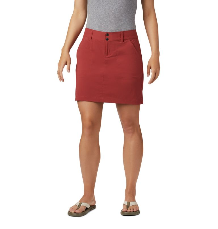 Saturday Trail™ Skort | 638 | 16 Jupe-Short Saturday Trail™ Femme, Dusty Crimson, front