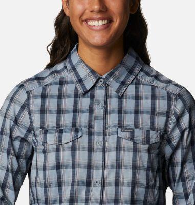 Women's Silver Ridge™ Lite Plaid Long Sleeve Shirt   Columbia Sportswear