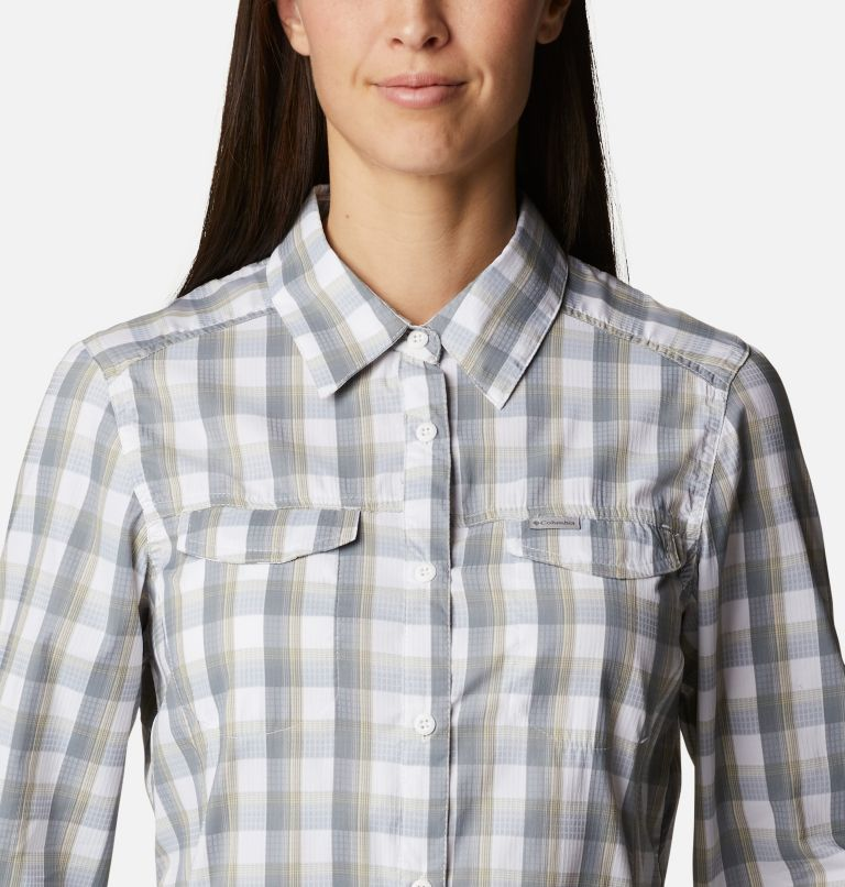 Women's Silver Ridge™ Lite Plaid Long Sleeve Shirt Women's Silver Ridge™ Lite Plaid Long Sleeve Shirt, a2