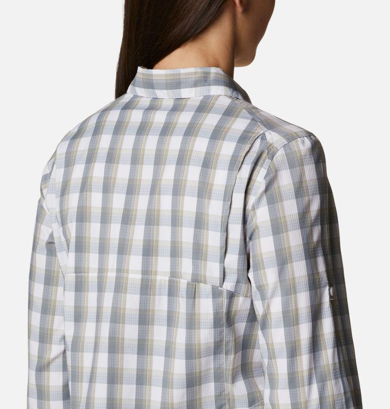 Silver Ridge™ Lite Plaid LS Shirt | 102 | XXL Women's Silver Ridge™ Lite Plaid Long Sleeve Shirt, White Plaid, a3