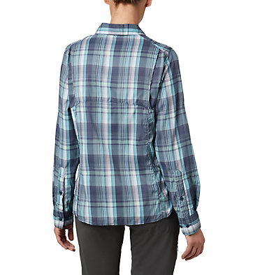 Women's Silver Ridge™ Lite Plaid Long Sleeve Shirt Silver Ridge™ Lite Plaid LS Shirt | 035 | L, Nocturnal Medium Multi Plaid, back