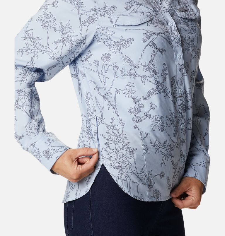 Women's Silver Ridge™ Lite Plaid Long Sleeve Shirt Women's Silver Ridge™ Lite Plaid Long Sleeve Shirt, a4