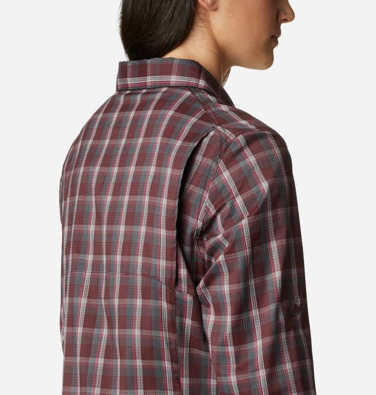 Women's Silver Ridge™ Lite Plaid Long Sleeve Shirt Women's Silver Ridge™ Lite Plaid Long Sleeve Shirt, a3