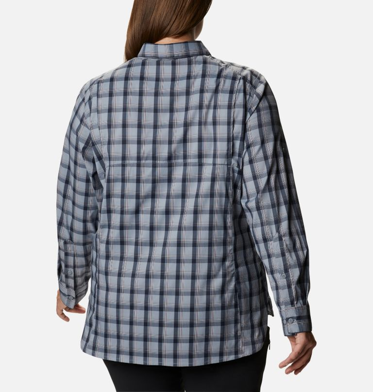 Women's Silver Ridge™ Lite Plaid Long Sleeve Shirt – Plus Size Women's Silver Ridge™ Lite Plaid Long Sleeve Shirt – Plus Size, a1