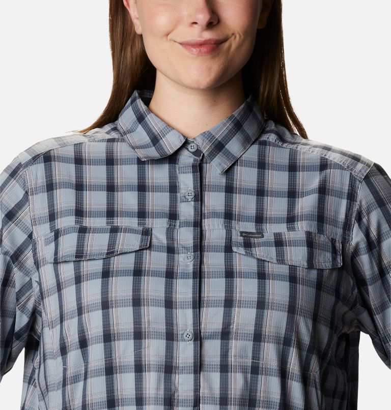 Women's Silver Ridge™ Lite Plaid Long Sleeve Shirt – Plus Size Women's Silver Ridge™ Lite Plaid Long Sleeve Shirt – Plus Size, a2