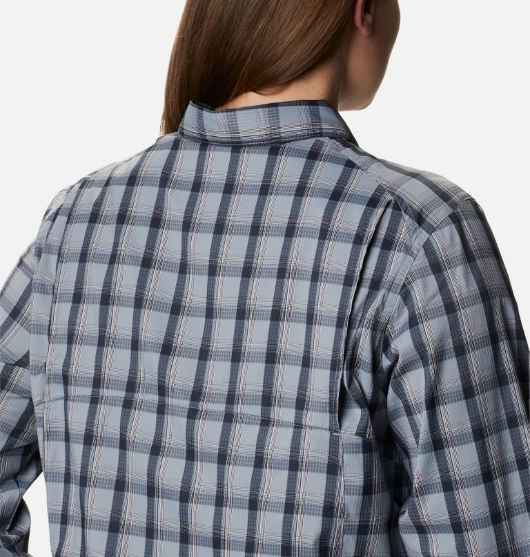 Women's Silver Ridge™ Lite Plaid Long Sleeve Shirt – Plus Size Women's Silver Ridge™ Lite Plaid Long Sleeve Shirt – Plus Size, a3