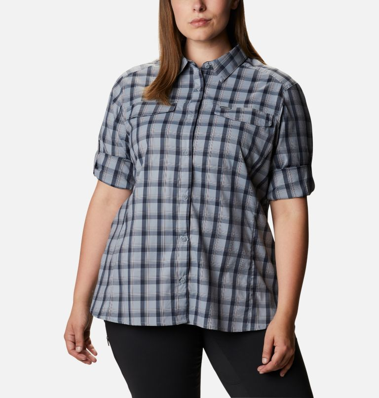 Women's Silver Ridge™ Lite Plaid Long Sleeve Shirt – Plus Size Women's Silver Ridge™ Lite Plaid Long Sleeve Shirt – Plus Size, a5
