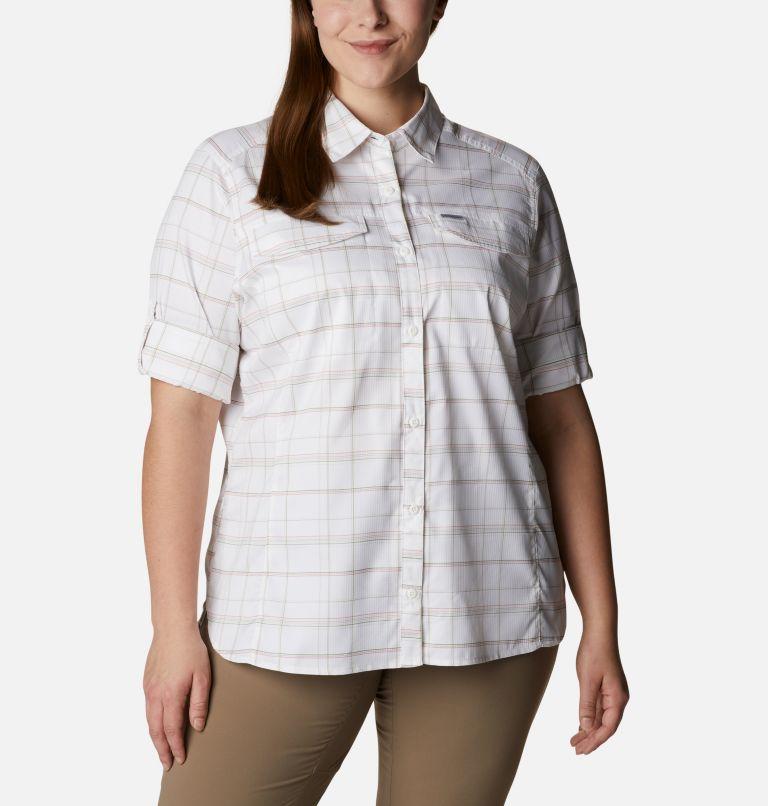 Women's Silver Ridge™ Lite Plaid Long Sleeve Shirt – Plus Size Women's Silver Ridge™ Lite Plaid Long Sleeve Shirt – Plus Size, a5