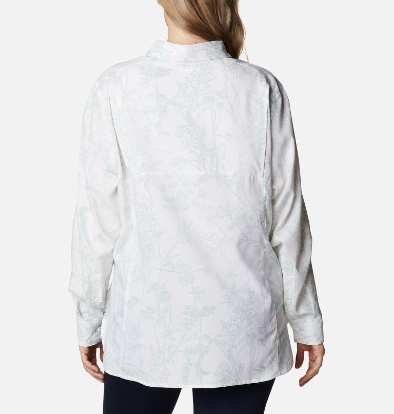 Women's Silver Ridge™ Lite Plaid Long Sleeve Shirt – Plus Size Women's Silver Ridge™ Lite Plaid Long Sleeve Shirt – Plus Size, back