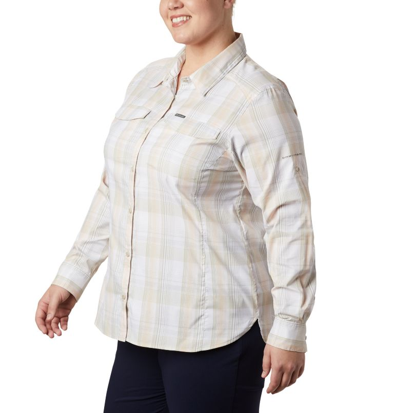 Women's Silver Ridge™ Lite Plaid Long Sleeve Shirt – Plus Size Women's Silver Ridge™ Lite Plaid Long Sleeve Shirt – Plus Size, a4