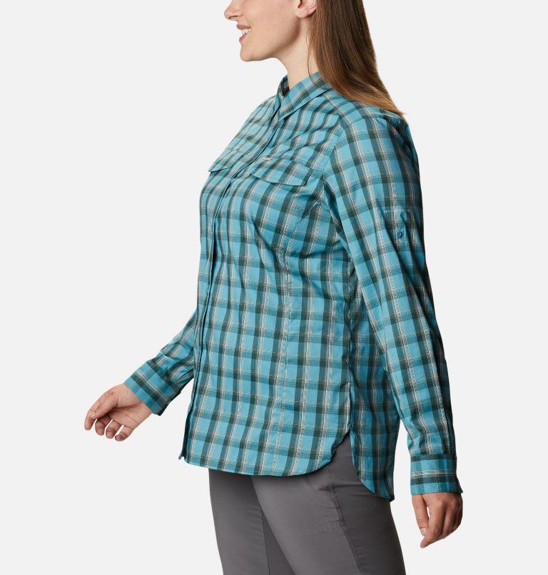 Women's Silver Ridge™ Lite Plaid Long Sleeve Shirt - Plus Size Women's Silver Ridge™ Lite Plaid Long Sleeve Shirt - Plus Size, a1