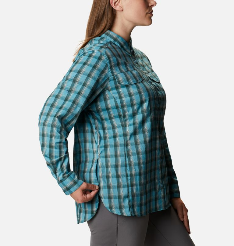 Women's Silver Ridge™ Lite Plaid Long Sleeve Shirt – Plus Size Women's Silver Ridge™ Lite Plaid Long Sleeve Shirt – Plus Size, a4