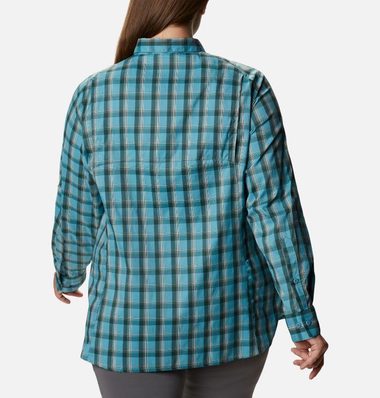 Chemise à carreaux à manches longues Silver Ridge™ Lite pour femme – Grande taille Chemise à carreaux à manches longues Silver Ridge™ Lite pour femme – Grande taille, back
