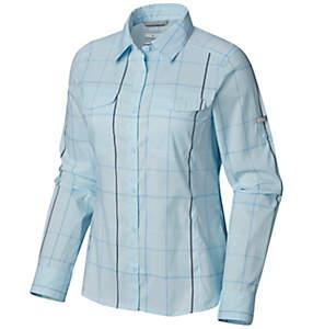 Women's Silver Ridge™ Lite Plaid Long Sleeve Shirt - Plus Size