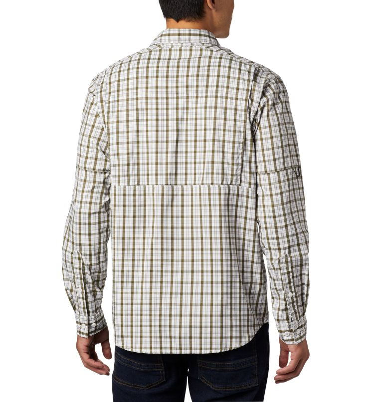 Men's Silver Ridge Lite Plaid™ Long Sleeve Men's Silver Ridge Lite Plaid™ Long Sleeve, back