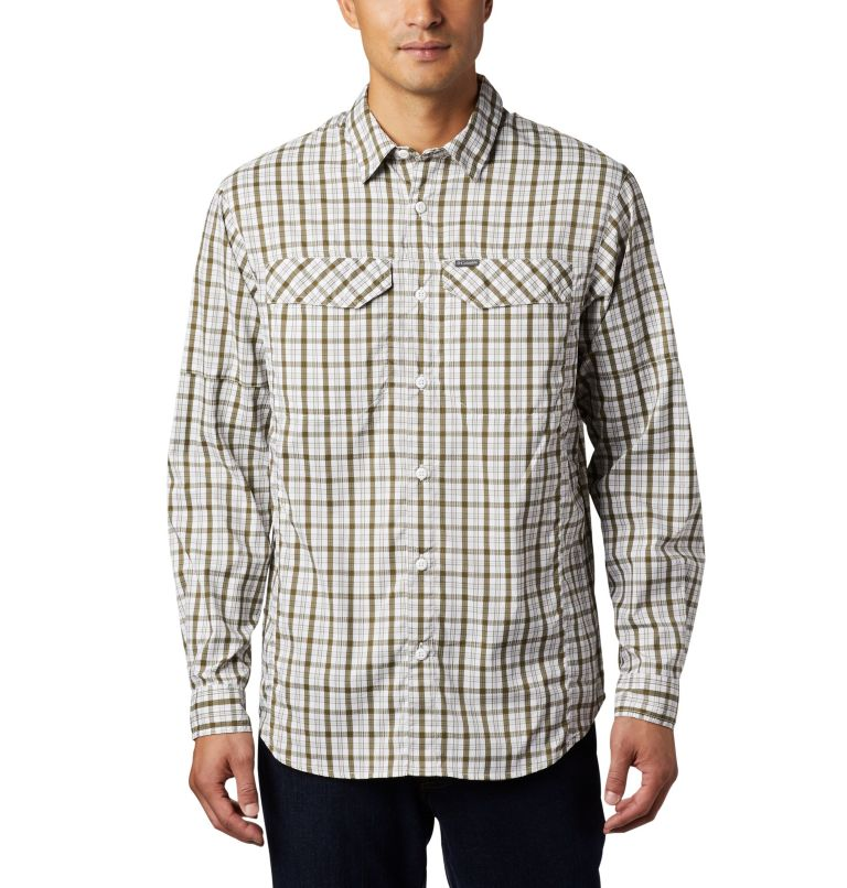 Men's Silver Ridge Lite Plaid™ Long Sleeve Men's Silver Ridge Lite Plaid™ Long Sleeve, front