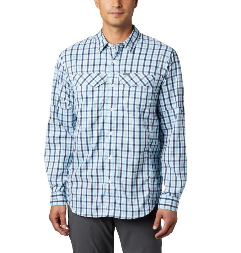 Men's Silver Ridge Lite Plaid™ Long Sleeve Men's Silver Ridge Lite Plaid™ Long Sleeve, front