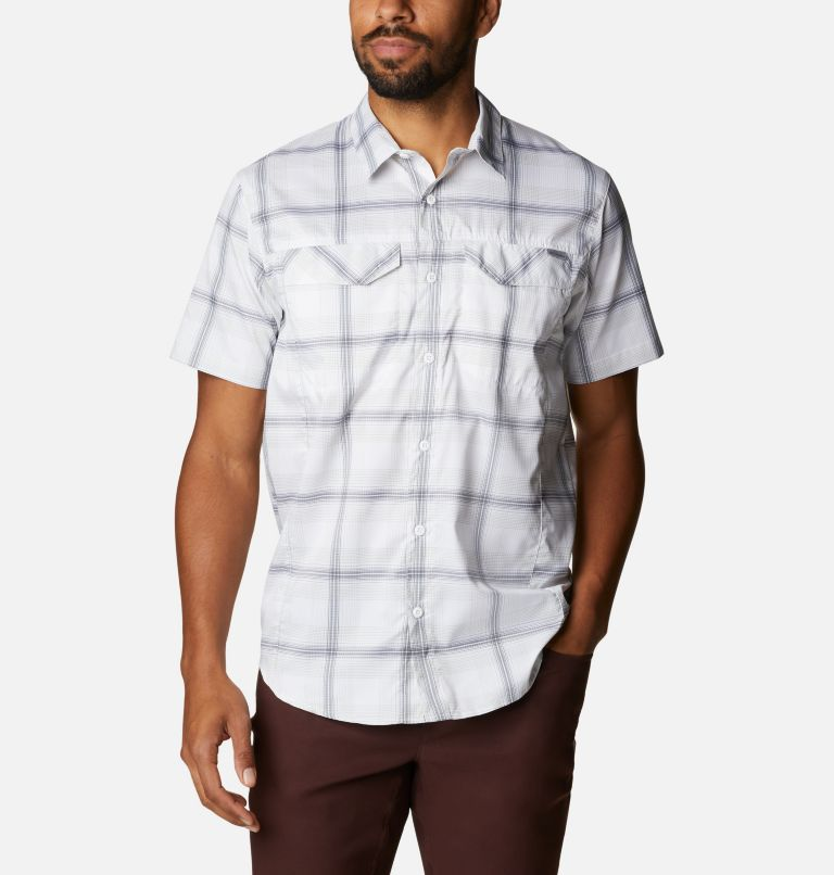 Men's Silver Ridge Lite Plaid™ Short Sleeve Men's Silver Ridge Lite Plaid™ Short Sleeve, front