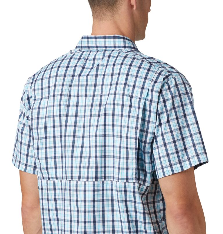 Silver Ridge Lite Plaid™ Short Sleeve | 466 | XL Men's Silver Ridge Lite Plaid™ Short Sleeve, Collegiate Navy Gingham, a2
