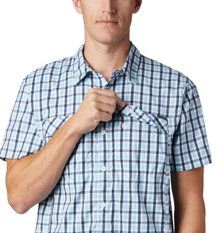 Silver Ridge Lite Plaid™ Short Sleeve | 466 | XL Men's Silver Ridge Lite Plaid™ Short Sleeve, Collegiate Navy Gingham, a3