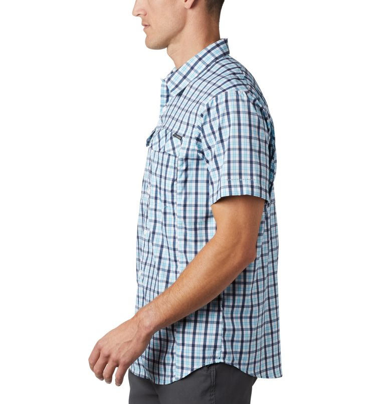 Men's Silver Ridge Lite Plaid™ Short Sleeve – Big Men's Silver Ridge Lite Plaid™ Short Sleeve – Big, a1
