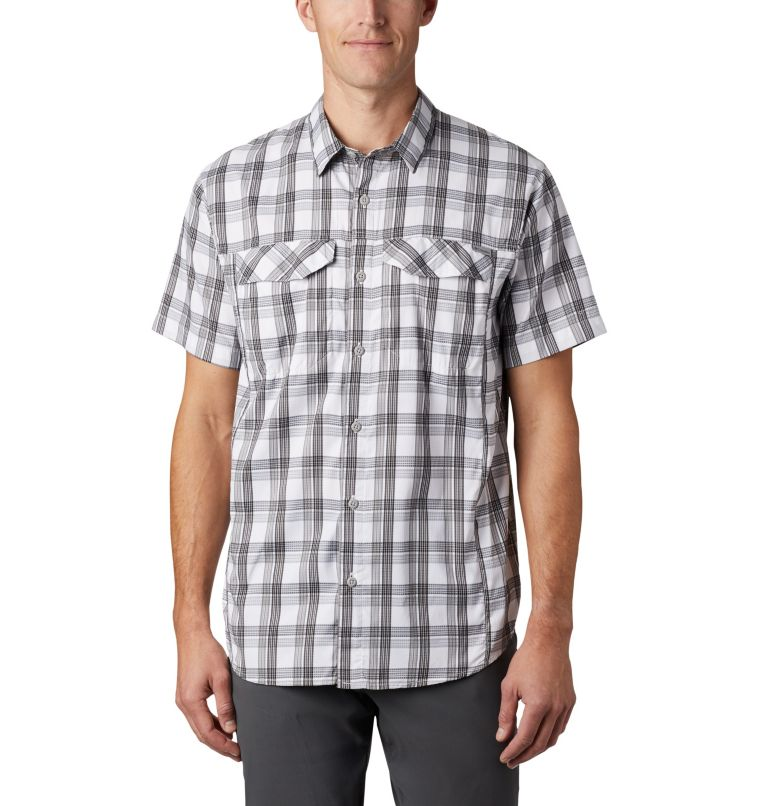 Men's Silver Ridge Lite Plaid™ Short Sleeve – Tall Men's Silver Ridge Lite Plaid™ Short Sleeve – Tall, front