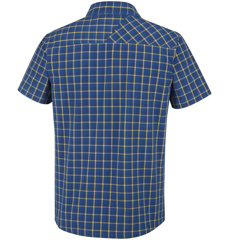 Triple Canyon™ Short Sleeve Sh | 468 | S Chemise Manches Courtes Triple Canyon™ Homme, Carbon Plaid, back