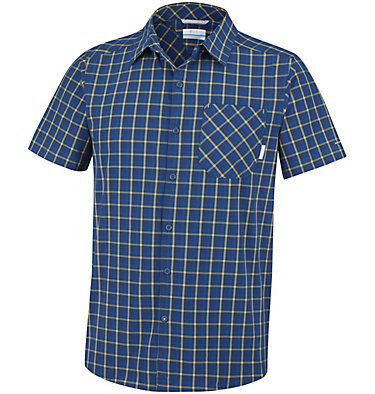 Triple Canyon™ Short Sleeve Sh Triple Canyon™ Short Sleeve Sh | 615 | M, Carbon Plaid, front