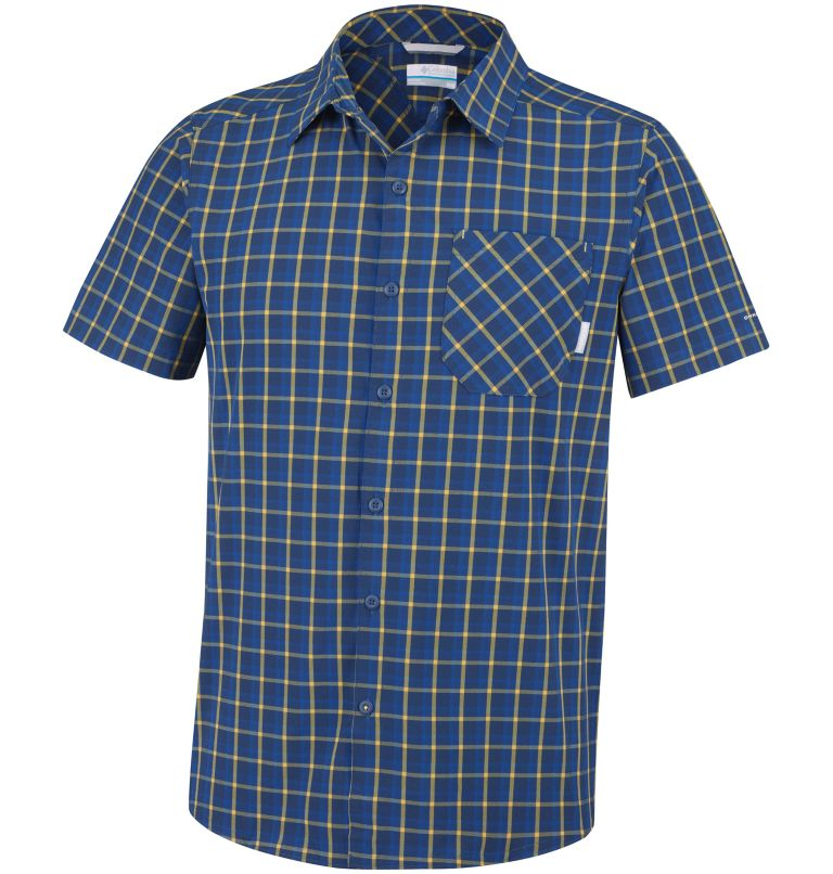Triple Canyon™ Short Sleeve Sh | 468 | S Chemise Manches Courtes Triple Canyon™ Homme, Carbon Plaid, front