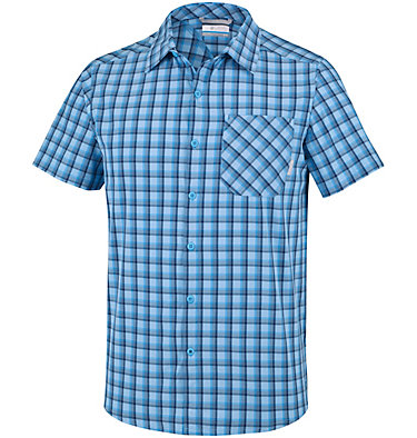 Triple Canyon™ Short Sleeve Sh Triple Canyon™ Short Sleeve Sh | 615 | M, Yacht, Carbon Plaid, front