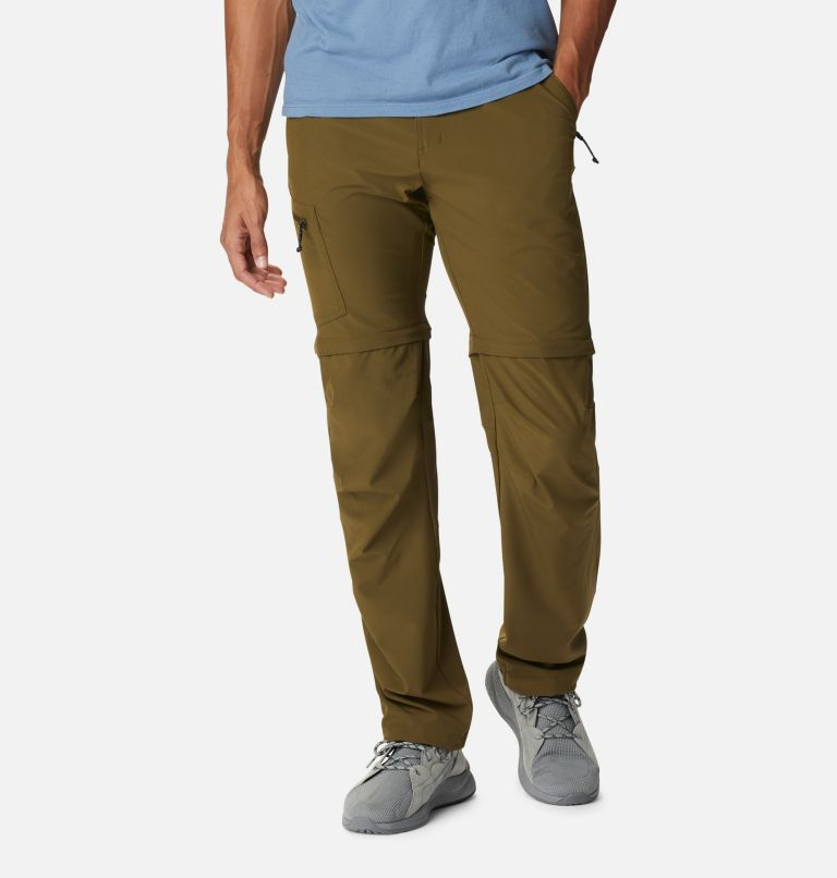 Triple Canyon™ Convertible Pant | 327 | 30 Men's Triple Canyon™ Convertible Trousers, New Olive, front