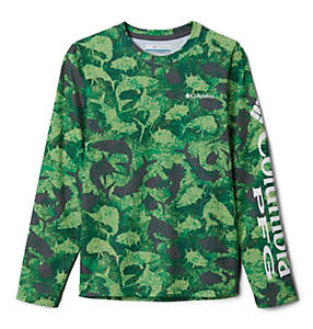 Kids' PFG Super Terminal Tackle™ Long Sleeve Shirt
