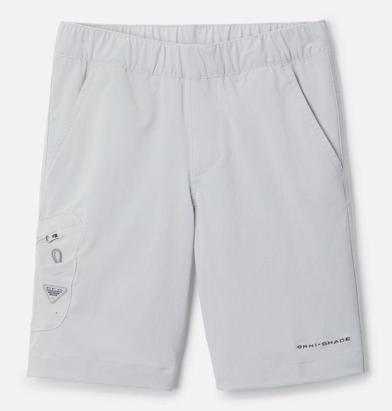 Terminal Tackle™ Short | 022 | XS Boys' PFG Terminal Tackle™ Shorts, Cool Grey, front