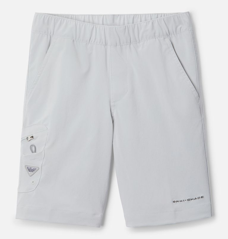 Terminal Tackle™ Short | 022 | M Boys' PFG Terminal Tackle™ Shorts, Cool Grey, front
