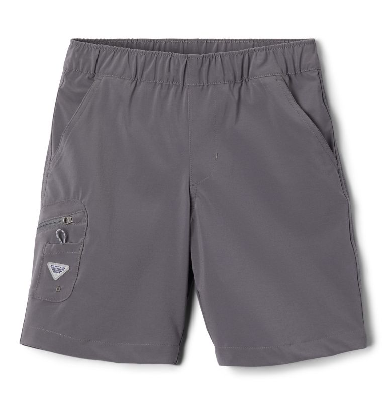 Terminal Tackle™ Short | 023 | XS Boys' PFG Terminal Tackle™ Shorts, City Grey, front
