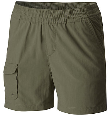 Silver Ridge™ Pull-On Shorts für Mädchen Silver Ridge™ Pull-On Short | 627 | L, Cypress, front