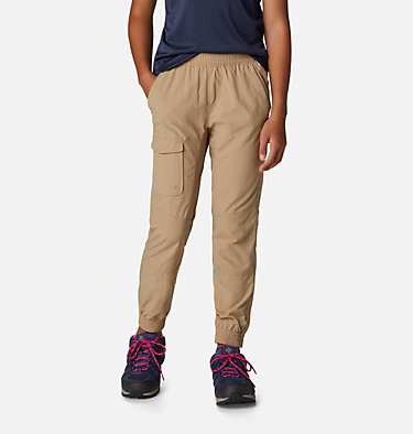 Girls' Silver Ridge™ Pull-On Banded Pant Silver Ridge™ Pull-On Banded Pant | 265 | L, British Tan, front