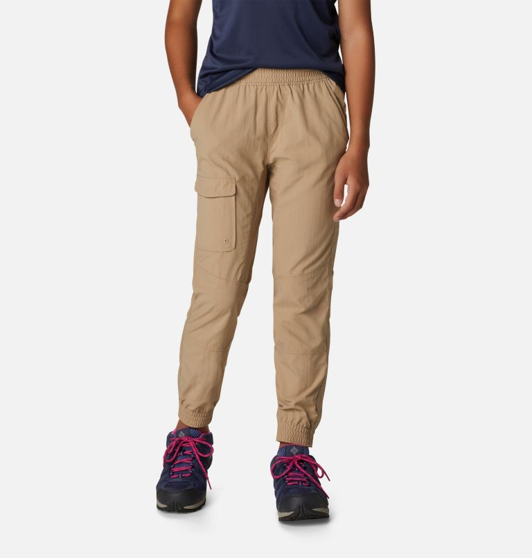 Girls' Silver Ridge™ Pull-On Banded Pant Girls' Silver Ridge™ Pull-On Banded Pant, front