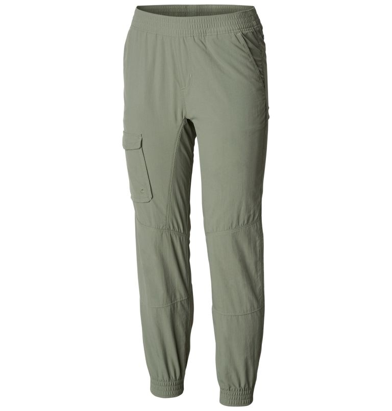 Pantaloni con fascia elastica Silver Ridge™ da bambina Pantaloni con fascia elastica Silver Ridge™ da bambina, front