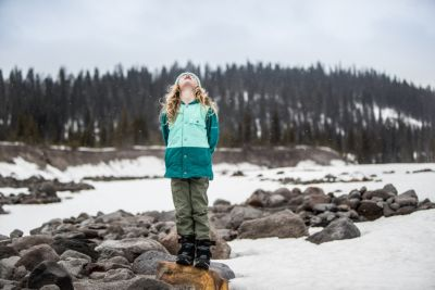 Nocturnal XS Blue Silver Ridge IV Columbia Girls Convertible Hiking Trousers